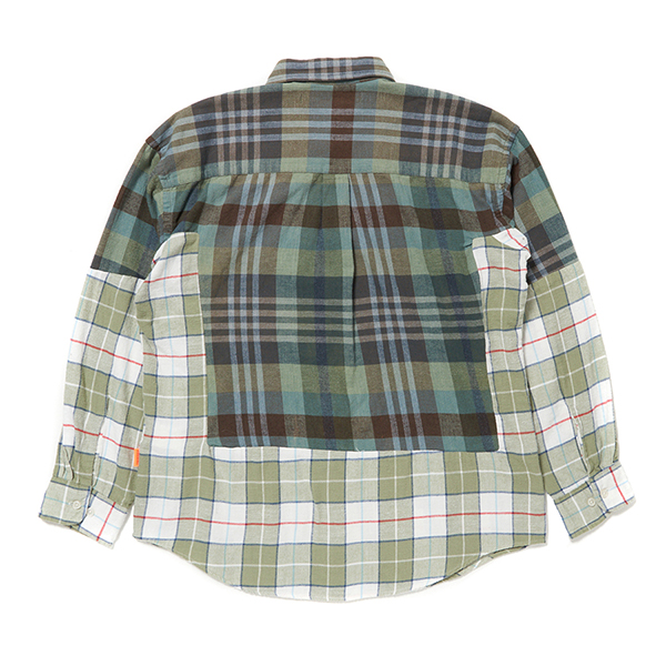 Custom Remake Shirt (Green Check) 詳細画像