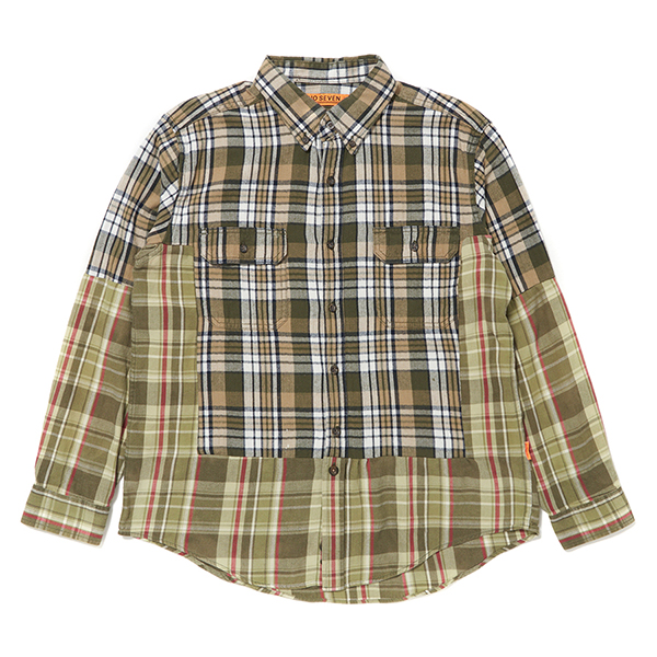 Custom Remake Shirt (Green Check)